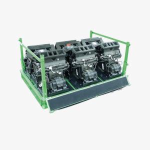 Transportgestell für Automobil-Klimaanlagen