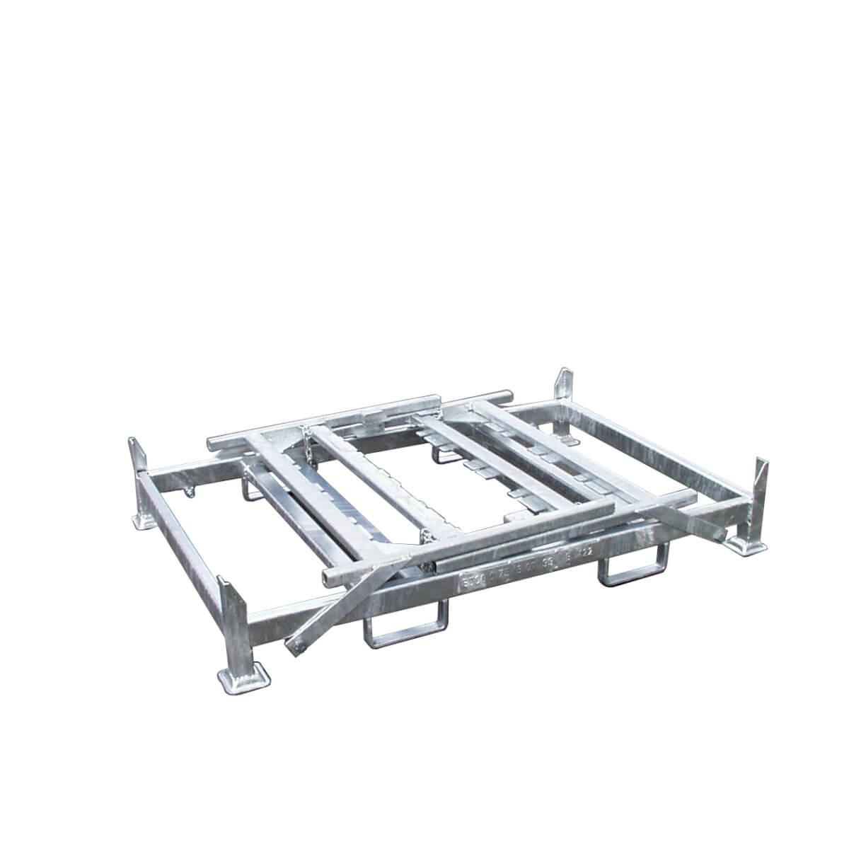 Folienrollengestell, klappbar, für mehrere Rollen, individuell anpassbar-2